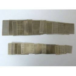 Шаблон (stencil, стенсил) chip size универсален за ребол (reball) на BGA чипове, 1 брой