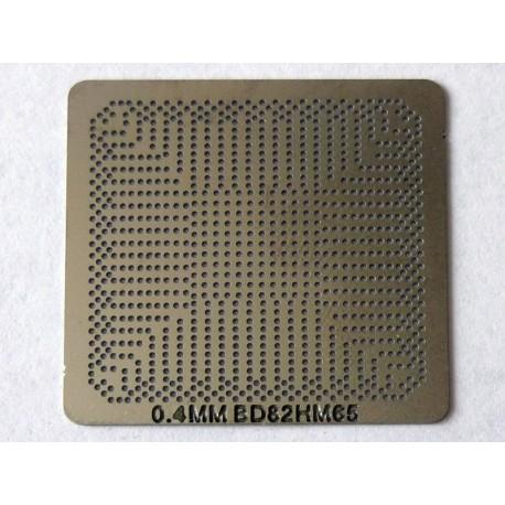Шаблон chip size BD82HM65 за ребол на Intel BGA чипове