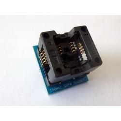 Адаптер SOP8 to DIP8 150mil за програматор TL866A и TL866CS