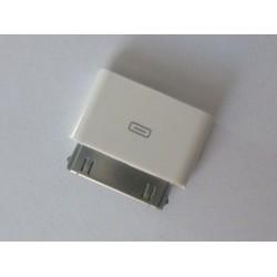Адаптер micro USB to 30 pin connector for iPhone 4 4s iPad 1 2 3, нов