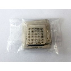 Stencils for reball BGA chips, most used, 32 pcs