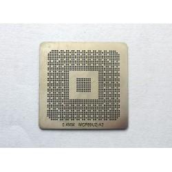 Шаблон (stencil, стенсил) nVidia MCP89UZ-A3 за ребол (reball) на BGA чипове