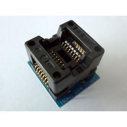 Адаптер SOP16 to DIP16 150mil за програматор TL866A и TL866CS