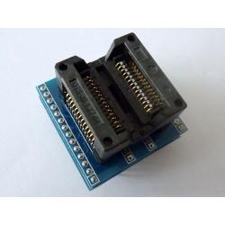 Адаптер 300mil SOP28 към DIP28 600mil за програматор