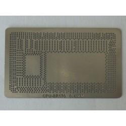 Шаблон (stencil, стенсил) Intel SR170 за ребол (reball) на BGA чипове