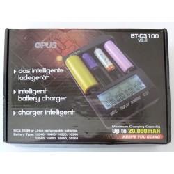 Зарядно устройство Opus BT-C3100 v2.2 за Li-Ion, NiCd, NiMH батерии, ново