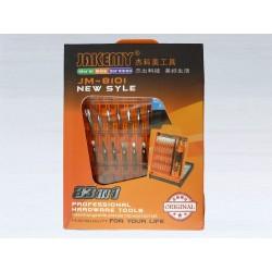Комплект отвертки с битове Jakemy JM-8101, 33 части