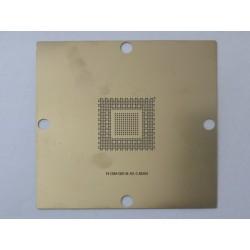Шаблон (stencil, стенсил) 90x90мм NVIDIA N13M-GE-B-A2 за ребол (reball) на BGA чипове
