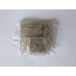 Stencils for reball BGA chips, most used, 48 pcs