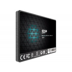 SSD диск (твърд диск) Silicon Power S55 SP120GBSS3S55S25 (2.5 inches, 7mm, 120GB SATA III)