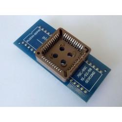 Адаптер PLCC44 to DIP40 за програматори RT809H, TNM5000, XELTEK USB, TL866CS, TL866A
