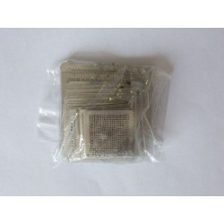 Stencils for reball BGA chips, most used, 47 pcs