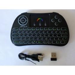 Безжична светеща клавиатура i86 mini, нова