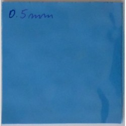 Thermal Conductive Silicone Pad 100x100x0.5 Blue