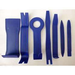 Инструменти за отваряне на пластмасови панели (remover clip tool), 7 броя