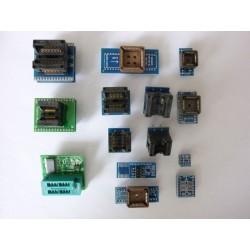 Комплект адаптери SOP, PLCC към DIP за програматор TL866A, TL866CS, RT809H