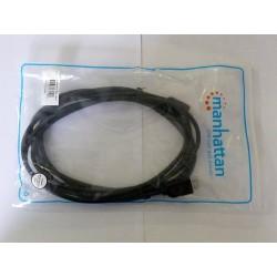 HDMI кабел Manhattan, 1080p, мъжко-мъжко (male-male), 3m