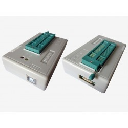 Универсален USB програматор XGecu TL866II Plus с 10 адаптера