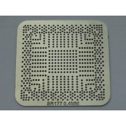 Шаблон (stencil, стенсил) chip size Intel SR177 за ребол (reball) на BGA чипове