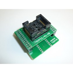 Адаптер TSOP32/40/48 0.5mm (NAND) за програматор TL866II Plus