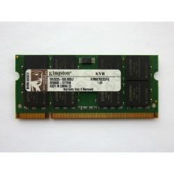 RAM памет Kingston 1GB DDR2 667MHz 1.8V SO-DIMM, втора употреба