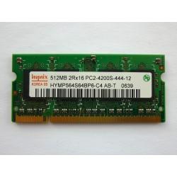 RAM памет Hynix 512MB DDR2 533MHz 1.8V SO-DIMM, втора употреба