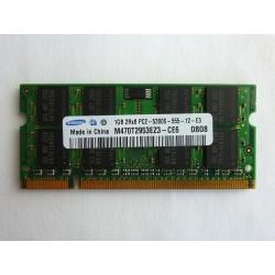 RAM памет Samsung 1GB DDR2 667MHz 1.8V SO-DIMM, втора употреба