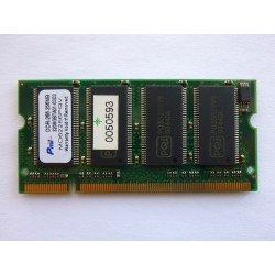 RAM memory Pmi 256MB DDR 266MHz 2.5V SO-DIMM, used