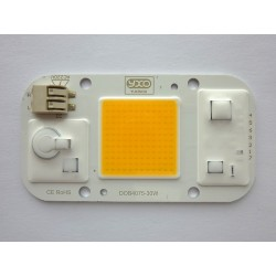 COB LED модул 30W 3500K с 220V интегрирано захранване, нов