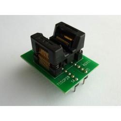 Адаптер 170mil TSSOP28 към DIP28 300mil за програматор