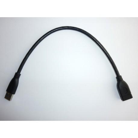 Кабел удължител USB 3.0 Type-A, 32 см