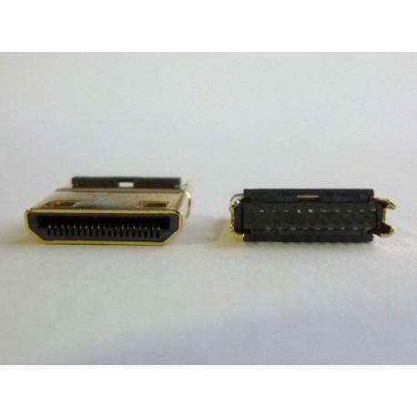 Mini HDMI конектор (букса) HD-13