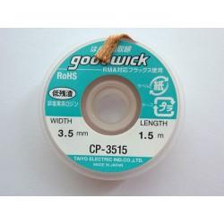 Медна оплетка за разпояване Goot Wick CP-3515, високо качество, оригинална