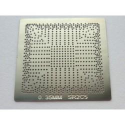 Шаблон chip size SR2C5 за ребол на Intel BGA чипове