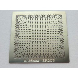 Stencil chip size SR2C5 for reballing Intel BGA IC chips