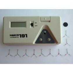 Цифров термометър HAKKO 191 за тест на температурата на поялник