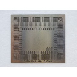 Stencil chip size 35504360A1620 for reballing Intel BGA IC chips