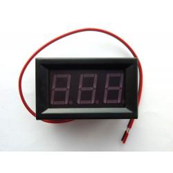 DC цифров волтметър, 30V, с LED дисплей