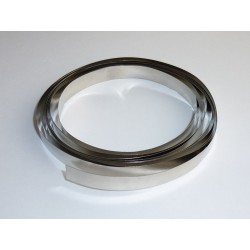 Nickel plated steel tape 8x0.12mm 2m, for welding of batteries