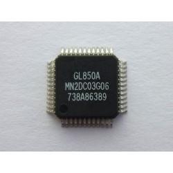 Чип Genesys Logic GL850A LQFP-48, USB2.0 low-power hub controller, нов