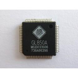 Чип Genesys Logic GL850A LQFP-64, USB2.0 low-power hub controller, нов