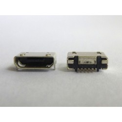 Micro-B USB jack (connector) MIC-43 (type 2) for phones and tablets