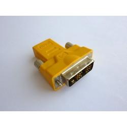 Адаптер DVI-D към HDMI Type A (M-F)