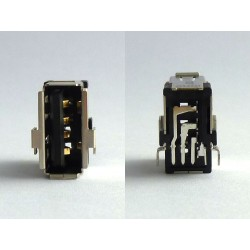 Type-A USB jack (connector) 08236 for vertical mounting