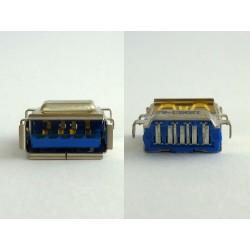 Type-A USB 3.0 конектор 120601-A2, женски, за монтаж на платка