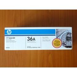 Оригинална тонер касета HP 36A (CB436A), Черно