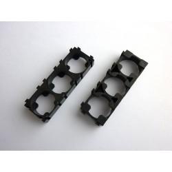 Комплект държачи 18650x3x1 за пакетиране на акумулаторни батерии