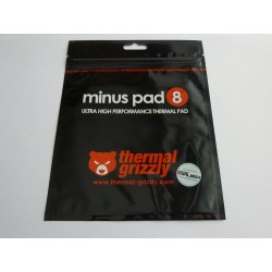 Термопроводима подложка Thermal Grizzly Minus Pad 8, 100x100x1.5мм