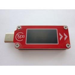 USB тестер 9 в 1 TC64 с цветен LCD дисплей и USB Type-C