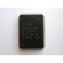 Чип AMD AM188ER-40KC (PQFP-100), x86 16-Bit microcontroller with RAM, нов